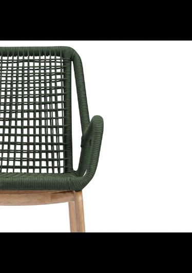 Cadeira Stendel Trama Corda Náutica Estrutura Jequitibá Eco Friendly Design Scaburi