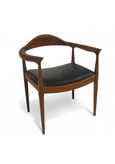 Cadeira The Chair designer Hans Wegner com Pinturas e Tecidos Personalizáveis