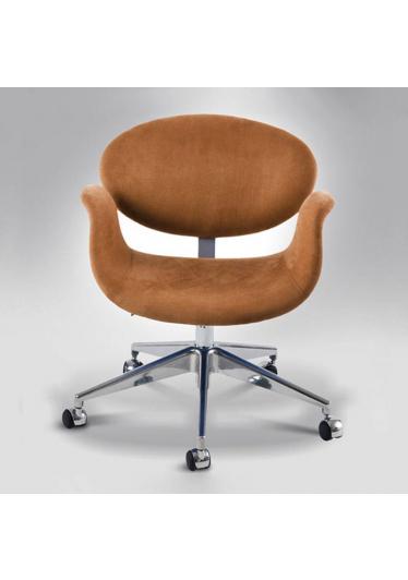 Cadeira Giratória Tulipa Office 5 Patas Rodízios Design by Studio Clássica