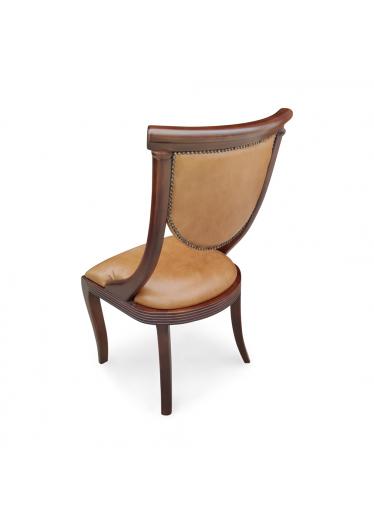 Cadeira Viena Estofada Madeira Maciça com Pinturas e Tecidos Personalizáveis