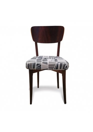 Cadeira Vintage em Madeira Maciça com Pinturas e Tecidos Personalizáveis