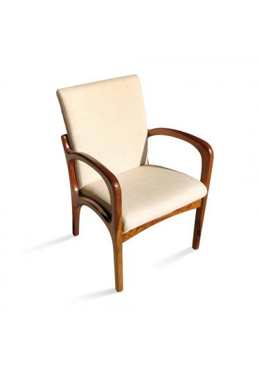 Cadeira VK com Braço Linho