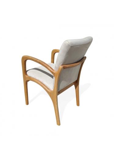 Cadeira VK com Braço Inspirada no Design de Vladimir Kagan