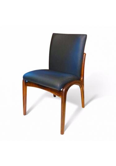 Cadeira Vladimir Kagan em Madeira com Pinturas e Tecidos Personalizáveis