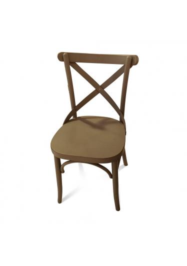 cadeira x design madeira macica