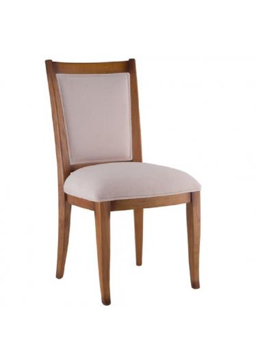 Cadeira Armil Jequitibá Encosto em Palha ou Tecido Móveis Armil