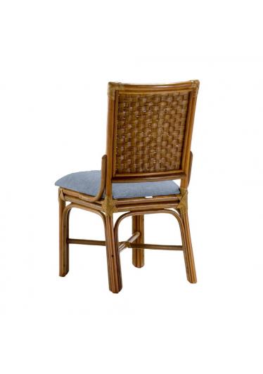 Cadeira Belliner - Tecido Azul