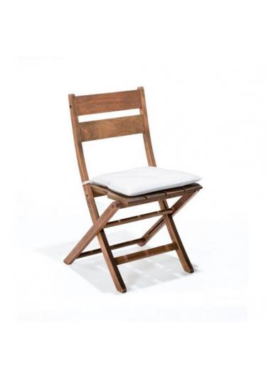 Cadeira Dobrável Verona Madeira Maciça Mestra Móveis Linha Madeira