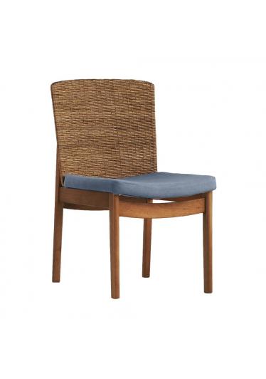 Cadeira Sofia - Tecido Azul