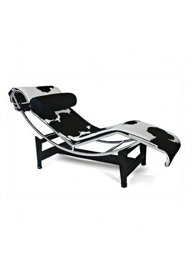 Chaise LC4 Base Aço Pintado Estrutura em Aço Inox Cremon Design by Le Corbusier
