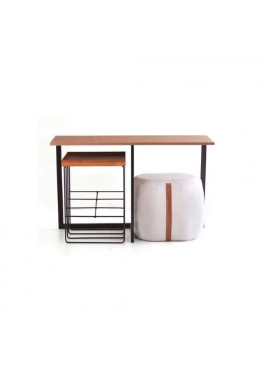 Aparador Half Tampo Laminado Cinamomo Design Contemporâneo Casa A Móveis