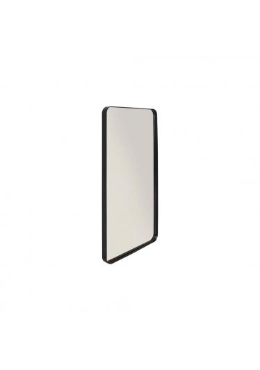 Espelho Cancun Retangular Estrutura Aço Carbono Design Industrial e Minimalista