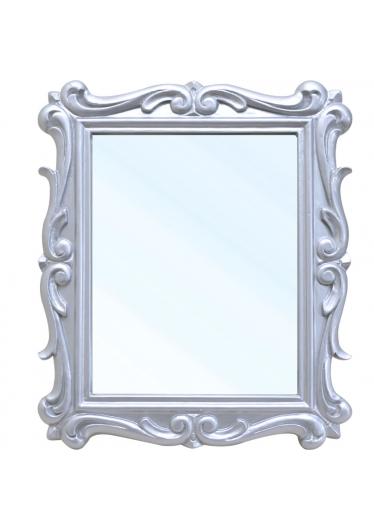 Espelho San remo entalhado Prata
