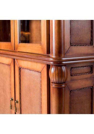 Estante de Livros Victory Madeira Maciça Design Clássico Avi Móveis