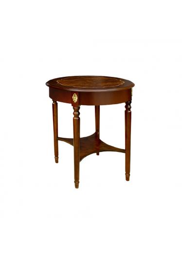 Mesa de Apoio George III Personalizado Madeira Maciça Detalhe em Marchetaria Design Clássico