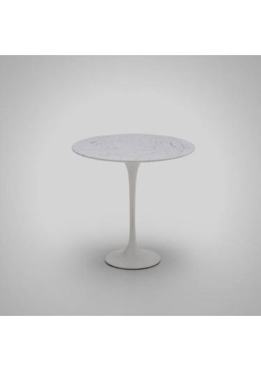 Mesa de Apoio Tulip Estrutura Alumínio Fundido Tampo Laminado Artesian Design by Eero Saarinen