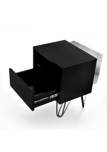 Mesa de Cabeceira Libertad Coleção Industrial Tremarin Design by Studio Marko20