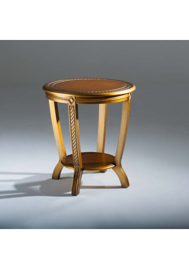 Mesa de Apoio Inspiração Decorativa Madeira Maciça Design Clássico Avi Móveis