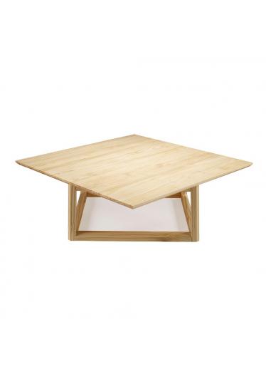 Mesa de Centro Square Madeira Maciça Máxima Móveis Design by Amueblate
