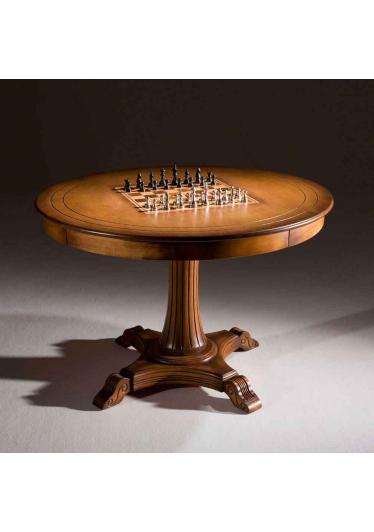 Mesa de Jogos Hillux Madeira Maciça Design Clássico Avi Móveis
