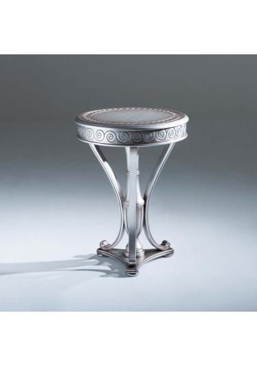 Mesa de Apoio Lucca Decorativa Madeira Maciça Design Clássico Avi Móveis