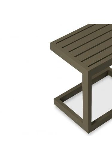 Mesa Lateral C para Área Externa Estrutura Alumínio Eco Friendly Design Scaburi