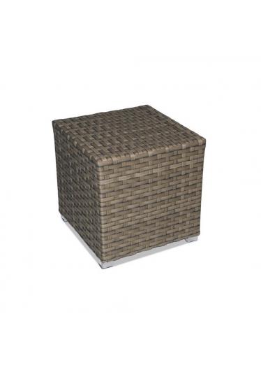Mesa Lateral Carajás para Área Externa Fibra Sintética Estrutura Alumínio Eco Friendly Design Scaburi