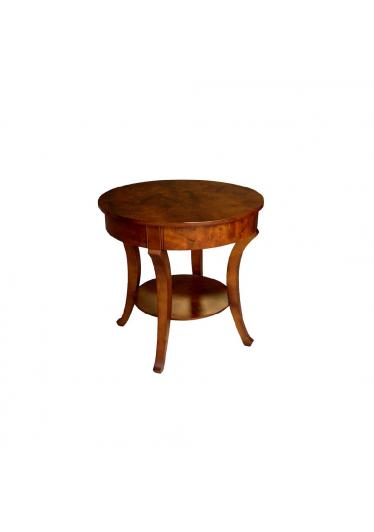 Mesa Lateral Tevere com Gaveta Personalizado Madeira Maciça Design Clássico
