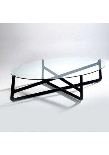 Mesa de Centro Linke Oval Studio Clássica Design by André Cruz
