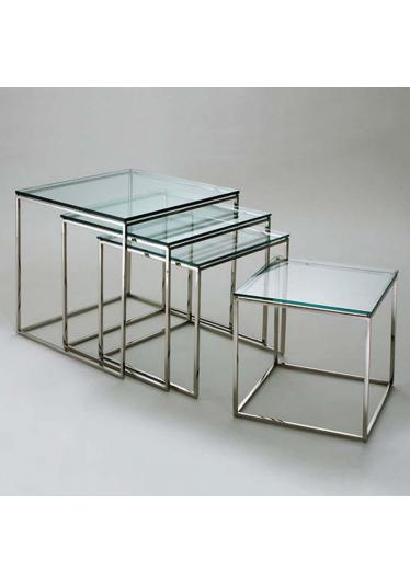 Mesa de Centro Quadrada PK71 Design by Poul Kjaerholm