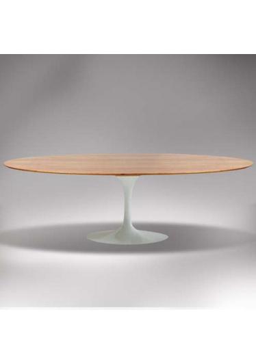 Mesa Saarinen Alta Oval Studio Clássica Design by Eero Saarinen