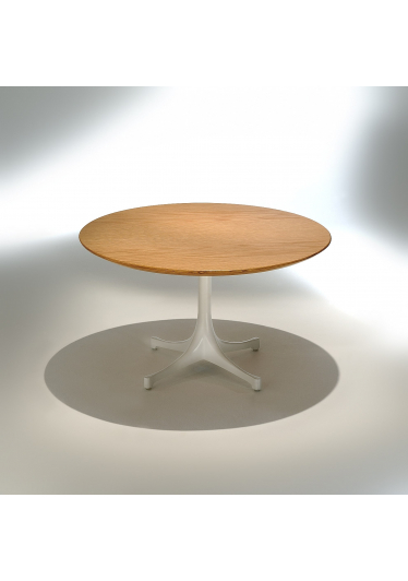 Mesa de Centro Café Estrutura Alumínio Pintura Fosca Studio Mais Design by George Nelson