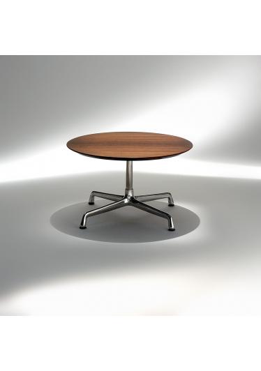 Mesa Lateral Charles Eames Estrutura Alumínio Coluna Aço Inox Studio Mais Design by Charles e Ray Eames
