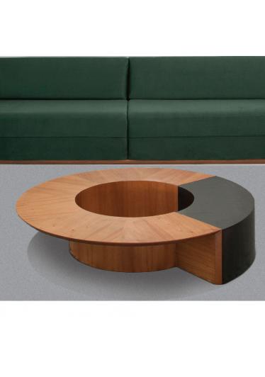 Mesa de Centro Zara Estilo Minimalista Destack Móveis Design by Ibanez Razzera