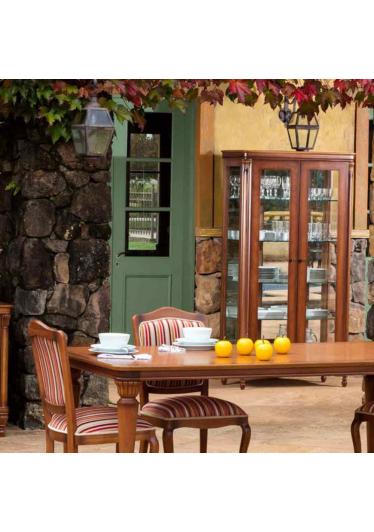 Mesa de Jantar Miami Jequitibá Entalhes Personalizados Móveis Armil