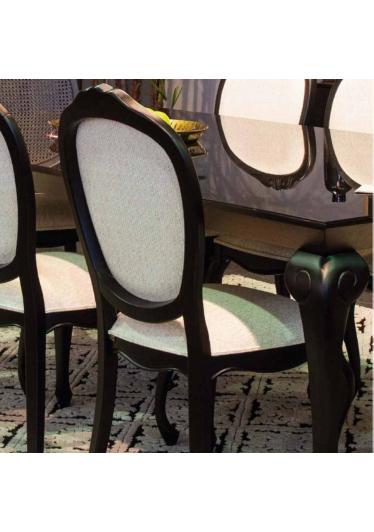 Mesa de Jantar Ópera Jequitibá Entalhes Personalizados Móveis Armil