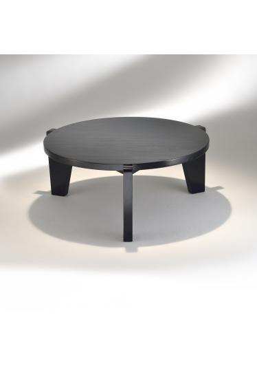 Mesa de Centro Gueridon Madeira Tonalizada Studio Mais Design by Jean Prouvé
