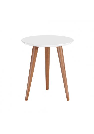Mesa lateral astrid branco