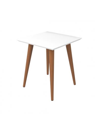 Mesa lateral kaira branco