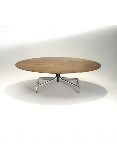 Mesa de Centro Segmentada Alumínio Polido e Aço Pintura Preta Studio Mais Design by Charles e Ray Eames