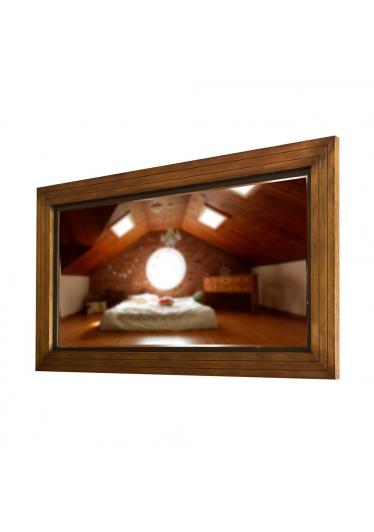 Moldura com Espelho Enzo Madeira Maciça Design Clássico Avi Móveis