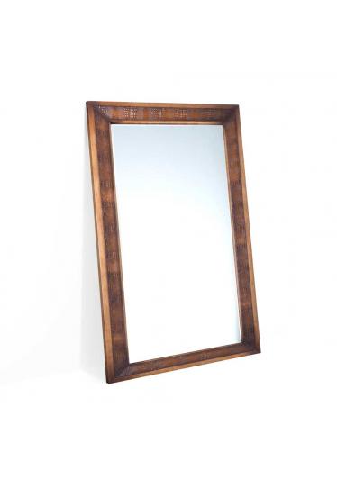 Moldura com Espelho Fênix Madeira Maciça Design Clássico Avi Móveis