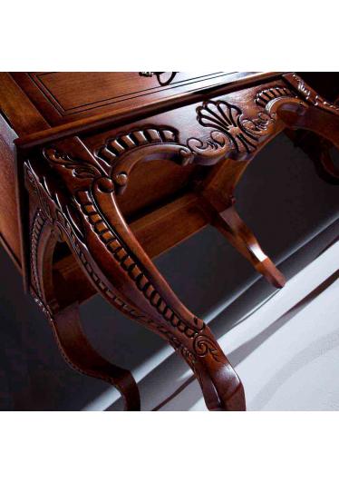 Penteadeira Lucca Madeira Maciça Design Clássico Avi Móveis