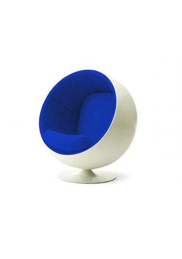 Poltrona Giratória Ball Chair Fibra de Vidro Cremon Design by Eero Aarnio
