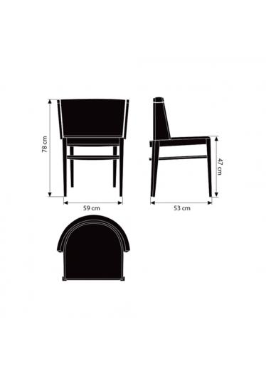 Poltrona Belair Designers Carolina Armellini e Paulo Biacchi