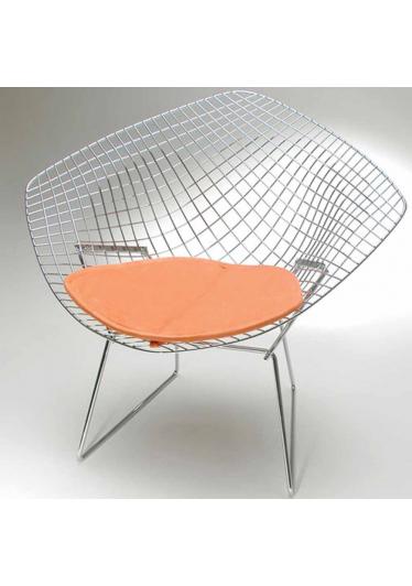 Poltrona Bertóia Diamante Almofada Studio Clássica Design by Harry Bertoia