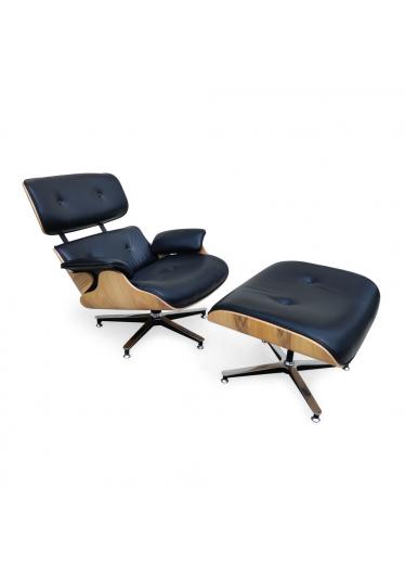 Poltrona Charles Eames com Puff