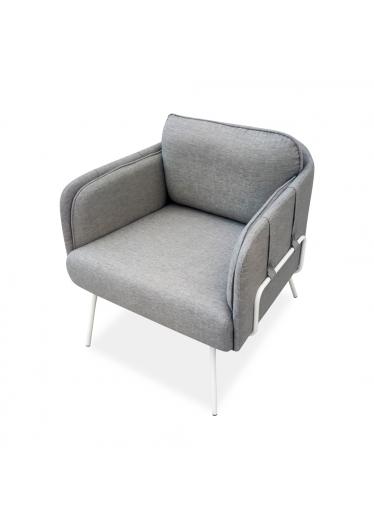 Poltrona Laço Base Aço Carbono Pintado Design Atemporal e Moderno Design by YE Design