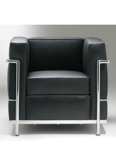 Poltrona LC2 Masculina Studio Clássica Design by Le Corbusier