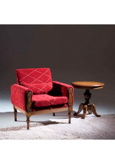 Mesa de Apoio Fênix Madeira Maciça Design Clássico Avi Móveis
